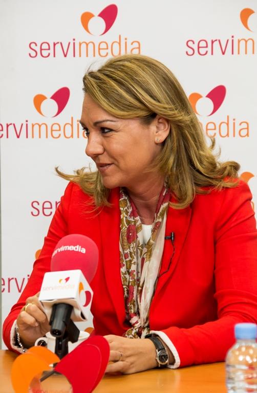 Susana Camarero, presidenta de la Comisión de Igualdad del Senado