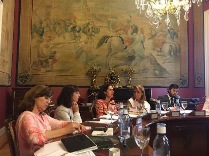 Fundación CERMI Mujeres pide en el Senado presupuestos para desarrollar pacto estado contra violencia género