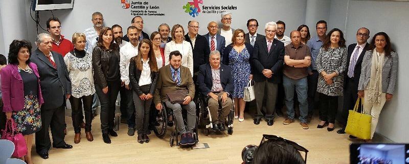 La Junta de Castilla y León y las entidades del Tercer Sector acuerdan mantener en 2018 la misma financiación del IRPF