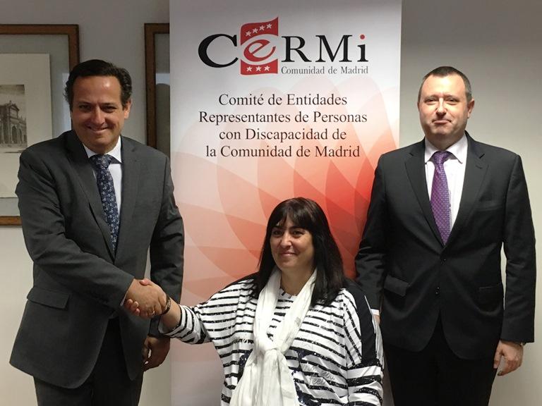 CERMI Madrid y CEIM firman un acuerdo para impulsar la inclusión laboral de las personas con discapacidad