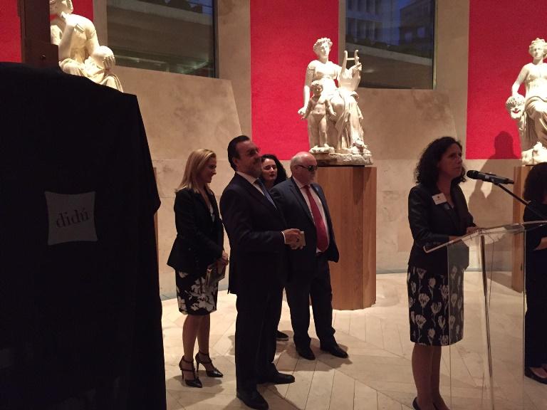 Delegación del EDF en el Museo del Prado durante una visita guiada