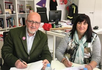 CERMI Madrid y UGT Madrid acuerdan impulsar la inserción laboral de las personas con discapacidad