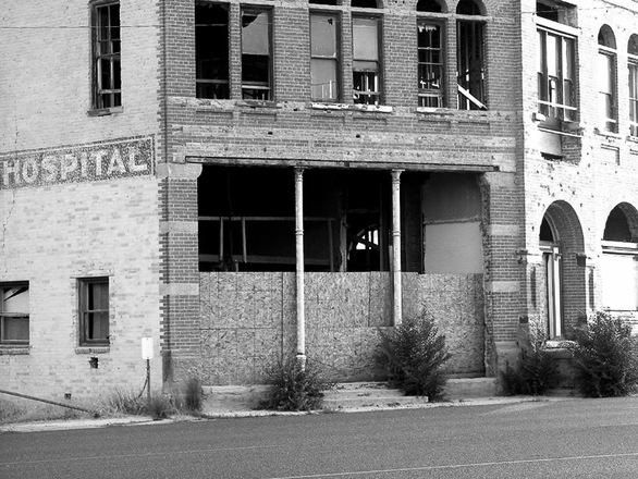 Antiguo hospital psiquiátrico