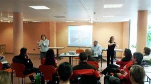 Trabajadores de Naturea asisten a la jornada de formación de CERMI Cantabria 'Buenas prácticas en la interacción con personas con discapacidad'