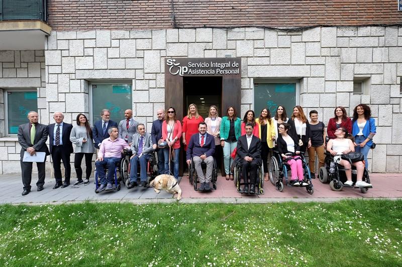 Predif abre en Valladolid una oficina de gestión de la prestación de asistencia personal