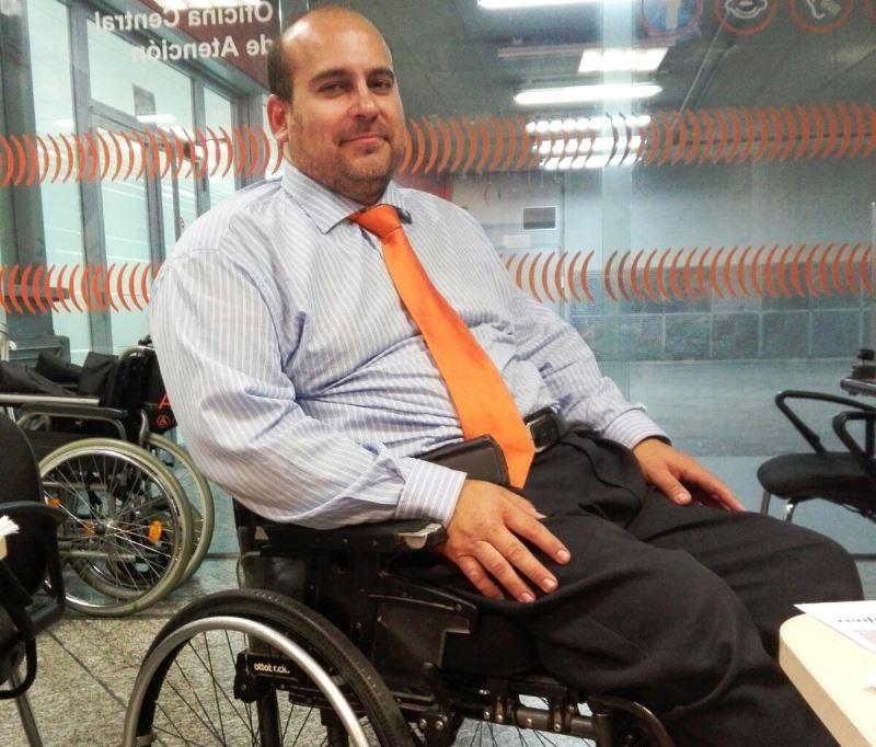 Daniel Domínguez, asesor del CERMI en transporte ferroviario
