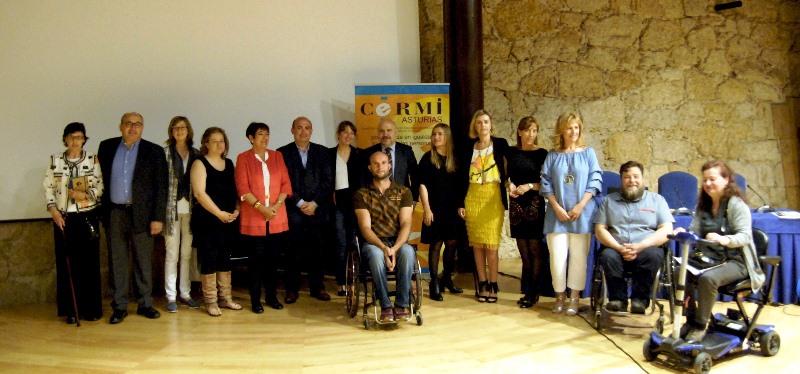 Celebrada una jornada de CERMI Asturias sobre el concierto social con la participación de representantes de la administración local y regional