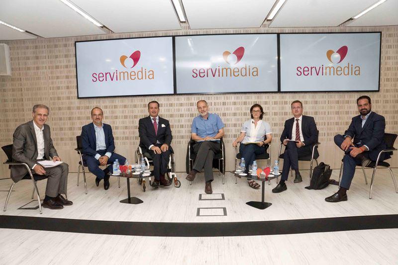 Mesa redonda portavoces de la Comisión de Políticas Integrales de la Discapacidad del Congreso de los Diputados