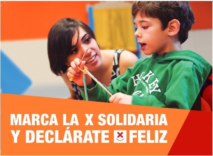 Una imagen de la campaña de la X solidaria