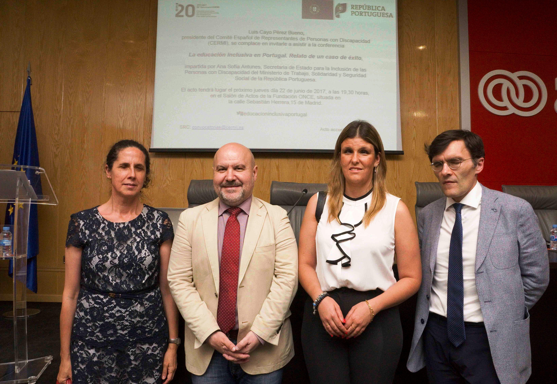 conferencia 'La educación inclusiva en Portugal. Un caso de éxito'