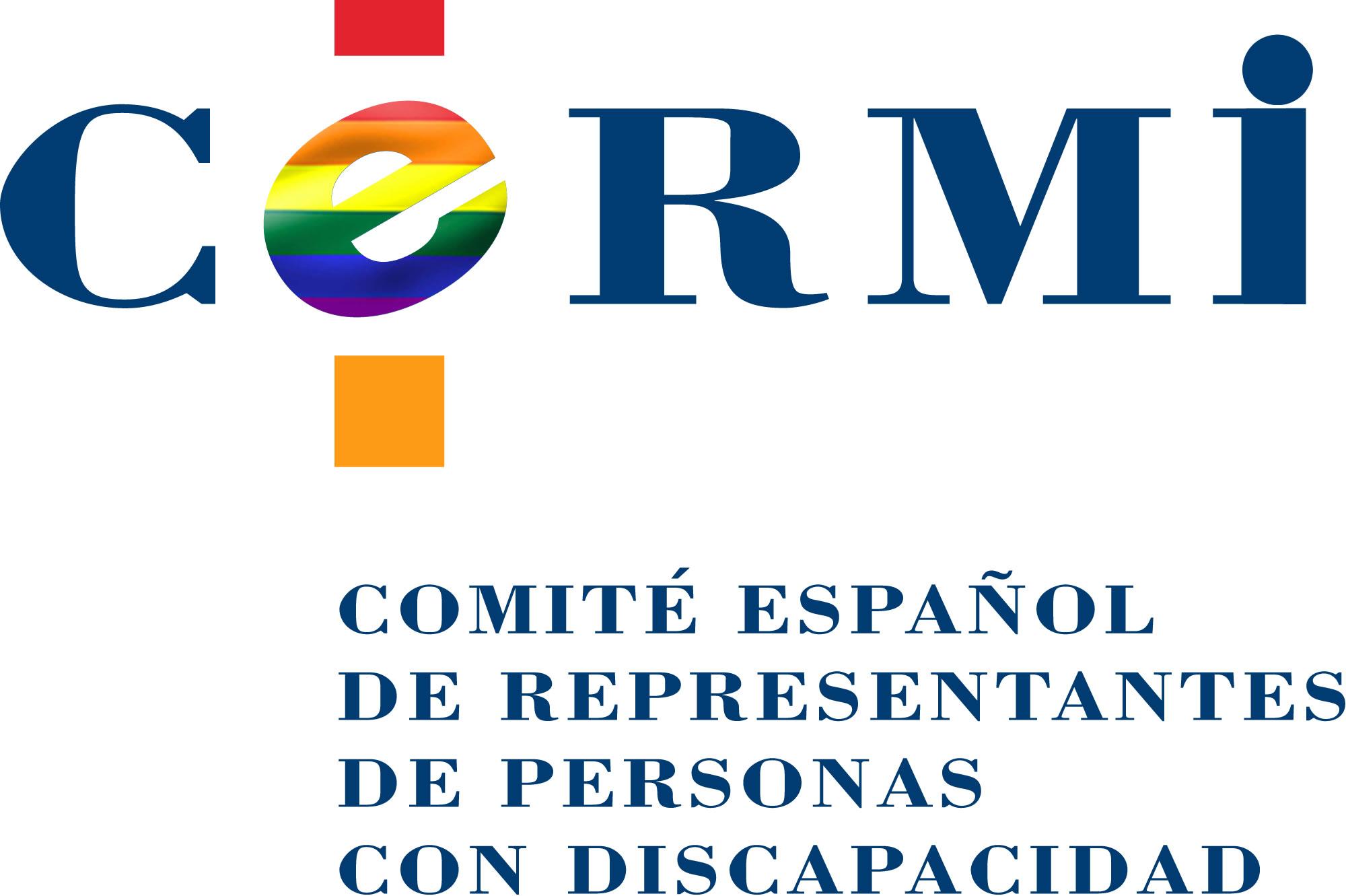 Logotipo del CERMI conmemorando el día del orgullo
