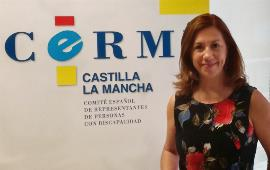Cristina Gómez, presidenta del CERMI Castilla-La-Mancha