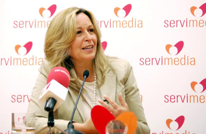 Trinidad Jiménez, secretaria de Política Social del PSOE