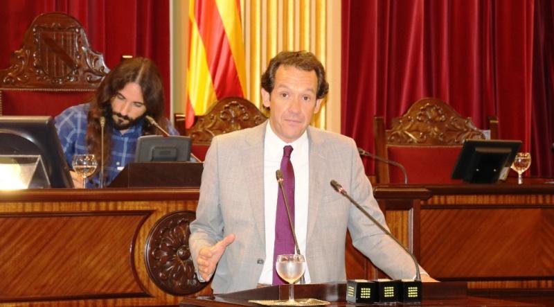 Marc Pons, Consejero de Territorio, Energía y Movilidad del Gobierno de las Islas Baleares