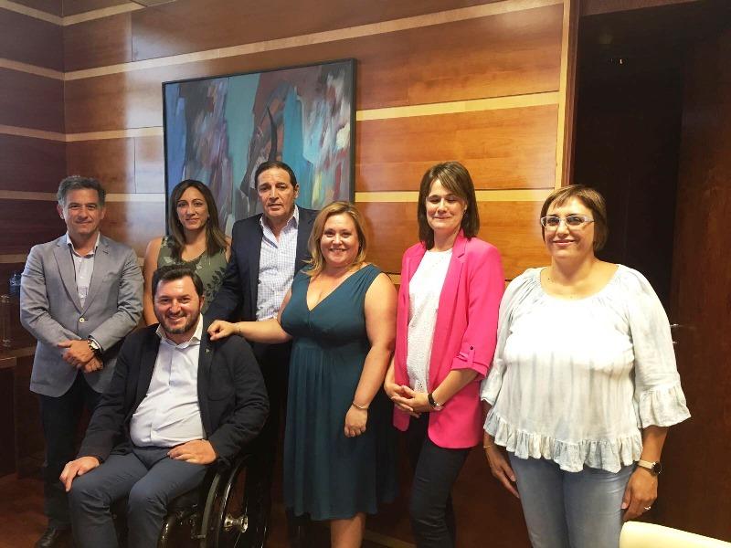 CERMI CyL plantea demandas en materia de discapacidad al consejero de Sanidad de la Junta de Castilla y León