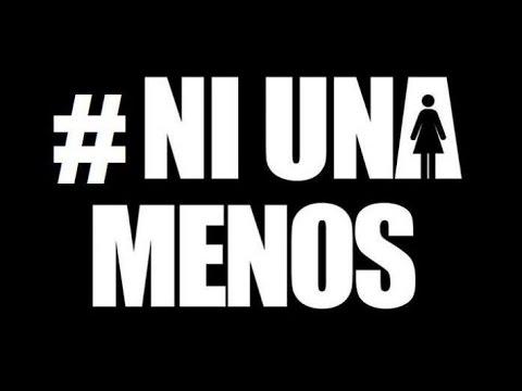 Logotipo contra la violencia de género 'Ni una menos'