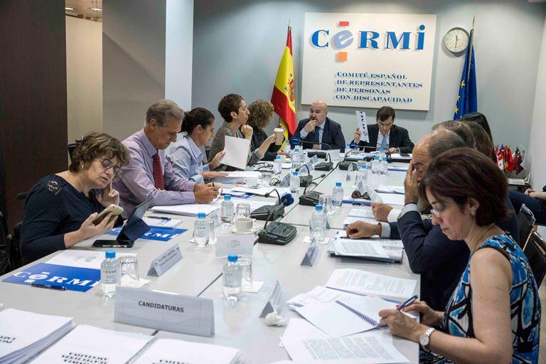 Reunión del jurado de los Premios cermi.es 2017