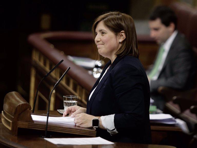 Pilar Cancela, presidenta de la Comisión de Igualdad de Género del Congreso, presenta el Pacto de Estado contra la Violencia