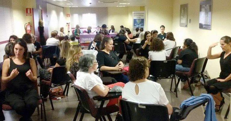 I Encuentro estatal de mujeres sordociegas