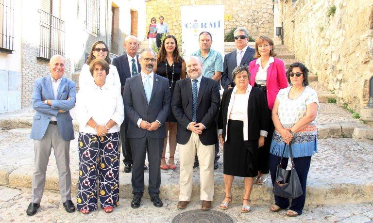 Representantes de asociaciones y federaciones de personas con discapacidad, agrupadas en CERMI Región de Murcia , se reúnen en Caravaca