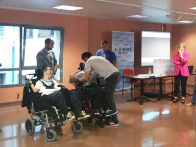 Curso dirigido a bomberos y voluntarios de Protección Civil para mejorar la asistencia a las personas con discapacidad