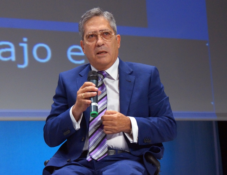 Alberto de Pinto, expresidente de Aspaym Nacional