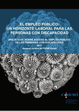 Portada de la obra: El empleo público: un horizonte laboral para las personas con discapacidad