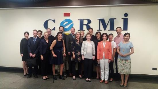 El CERMI presenta a representantes del Gobierno Noruego sus demandas en materia de inclusión digital