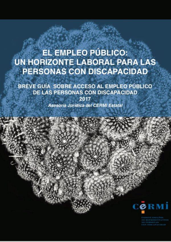 Portada de Breve Guía sobre acceso al empleo público de las personas con discapacidad 2017