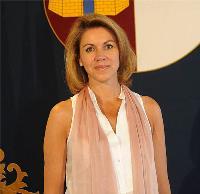 María Dolores de Cospedal, presidenta de la Junta de Castilla-La Mancha