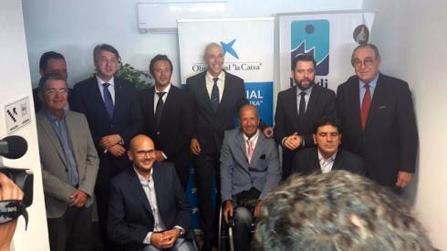 CERMI Andalucía asiste a la inauguración de las nuevas instalaciones de Fegadi COCEMFE
