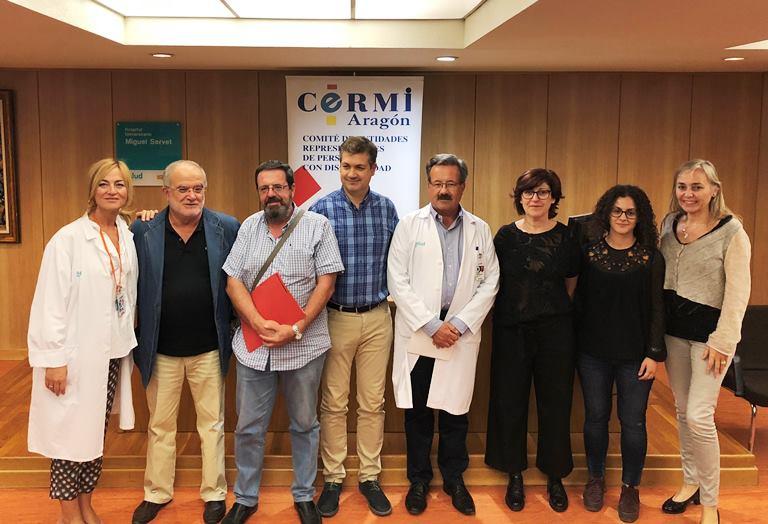 CERMI Aragón muestra a las y los profesionales sanitarias/os los obstáculos en el acceso a la sanidad de las personas con discapacidad
