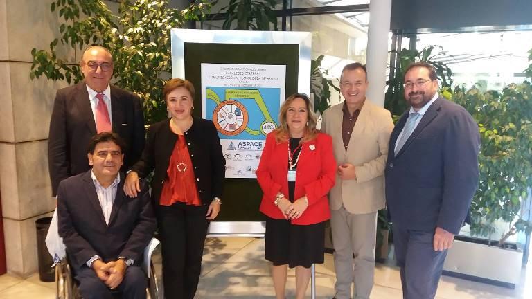 CERMI Andalucía participa en el acto de inauguración de las I Jornadas Nacionales de Parálisis Cerebral