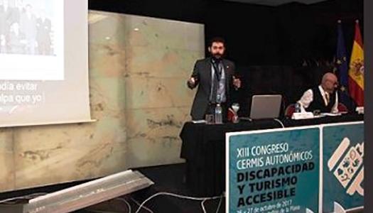 El secretario de Organización de Cocemfe participa en el XIII Congreso de CERMIS Autonómicos