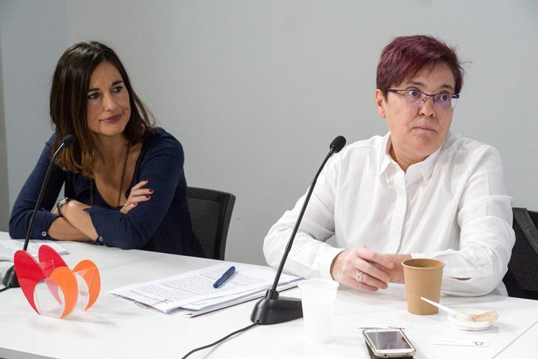 Graciela de la Morena, Directora de la Fundación Konecta y Pepa Torres, secretaria de la Comisión de Inclusión Laboral del CERMI