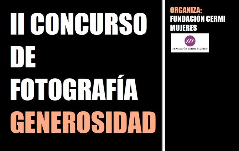 II Concurso de fotografía Generosidad