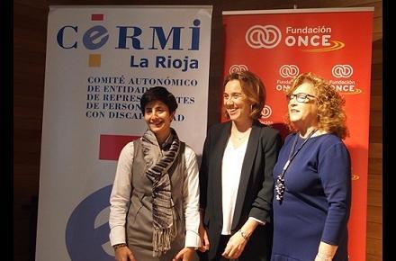 """Gamarra aboga por el trabajo común con entidades sociales para lograr un """"Logroño más inclusivo"""""""