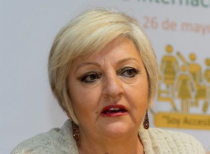 Carmen Balfagón, directora general del Imserso