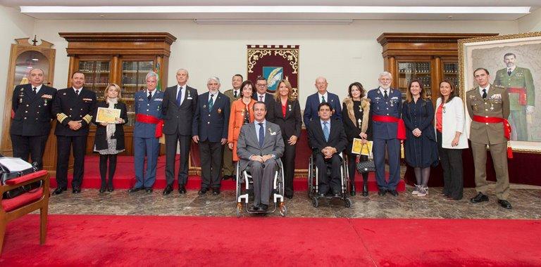 Acime condecora a 16 personas por su apoyo a los militares y guardias civiles con discapacidad