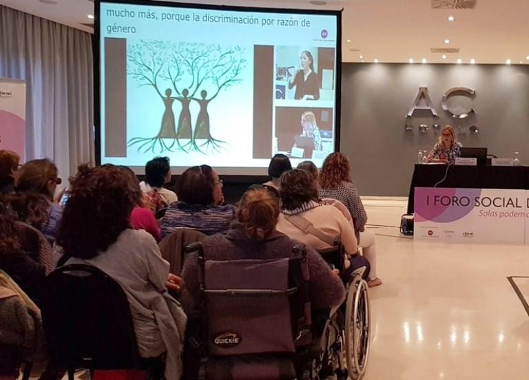 Rocío Pérez, presidenta de la Comisión de Diversidades Sexuales (LGTBI) y Discapacidad del CERMI Estatal