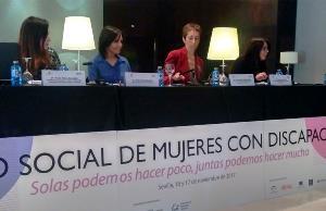 I Foro social de mujeres con discapacidad
