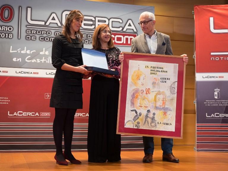 CERMI de Castilla-La Mancha, el cantautor flamenco Manuel Gerena y la Fundación Abogados de Atocha de CC.OO. encarnan el sentido de los IX Premios Solidarios de La Cerca
