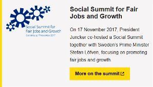 Cumbre Social en favor del Empleo Justo y el Crecimiento