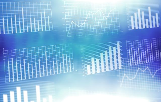 Gráfico de mercados en Bolsa