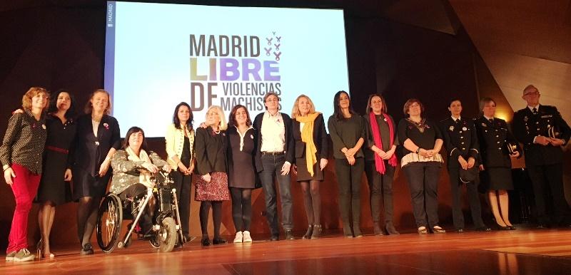 CERMI Madrid participa en el acto institucional del Ayuntamiento de Madrid por el Día contra la Violencia hacia las mujeres