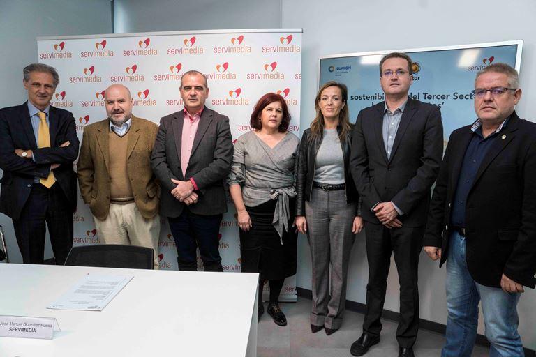 PP, PSOE y Ciudadanos se comprometen con el Tercer Sector para que los presupuestos de 2018 impulsen las políticas sociales