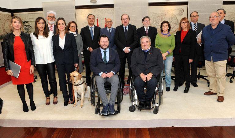 CERMI CyL y Junta de Castilla y León afianzan su colaboración para la mejora de la calidad de vida y la igualdad de oportunidades de las personas con discapacidad