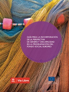 Portada de la 'Guía para la incorporación de la perspectiva de género y discapacidad en la programación del Fondo Social Europeo'