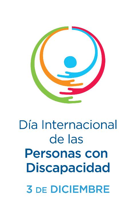 Logotipo de la ONU del Día Internacional de las Personas con Discapacidad