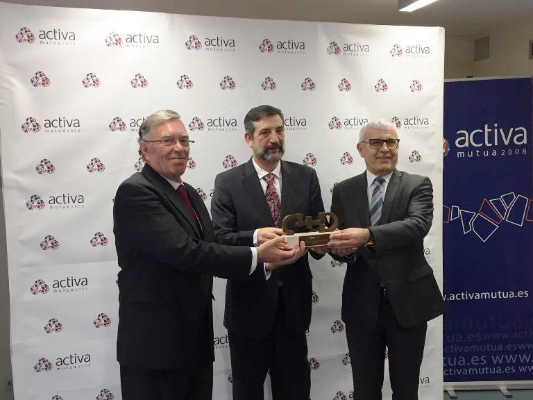 Activa Mutua recibe el Premio CERMI por su labor en la gestión de las situaciones de discapacidad sobrevenida